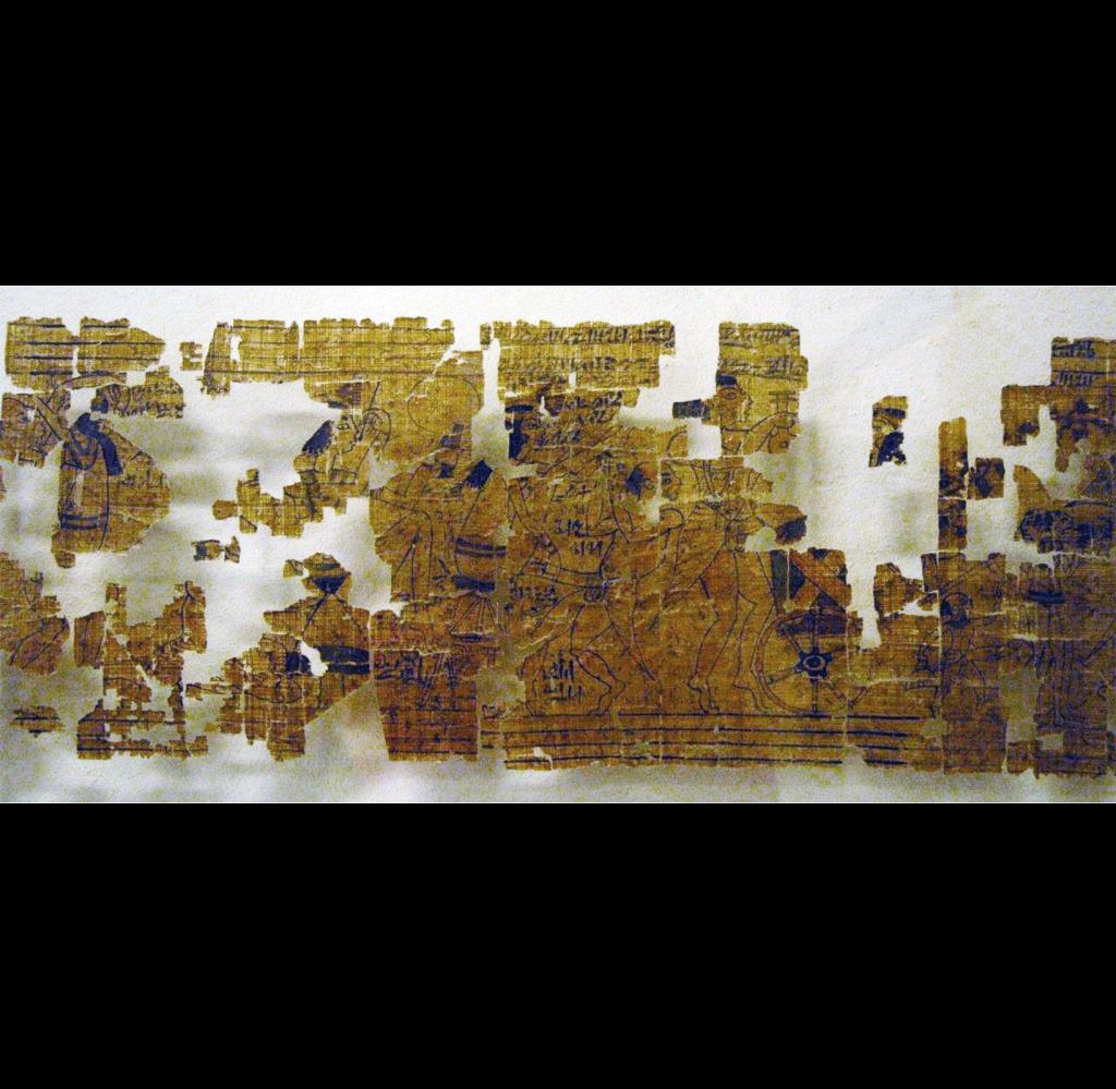 Turin erotic papyrus gift of erotica
