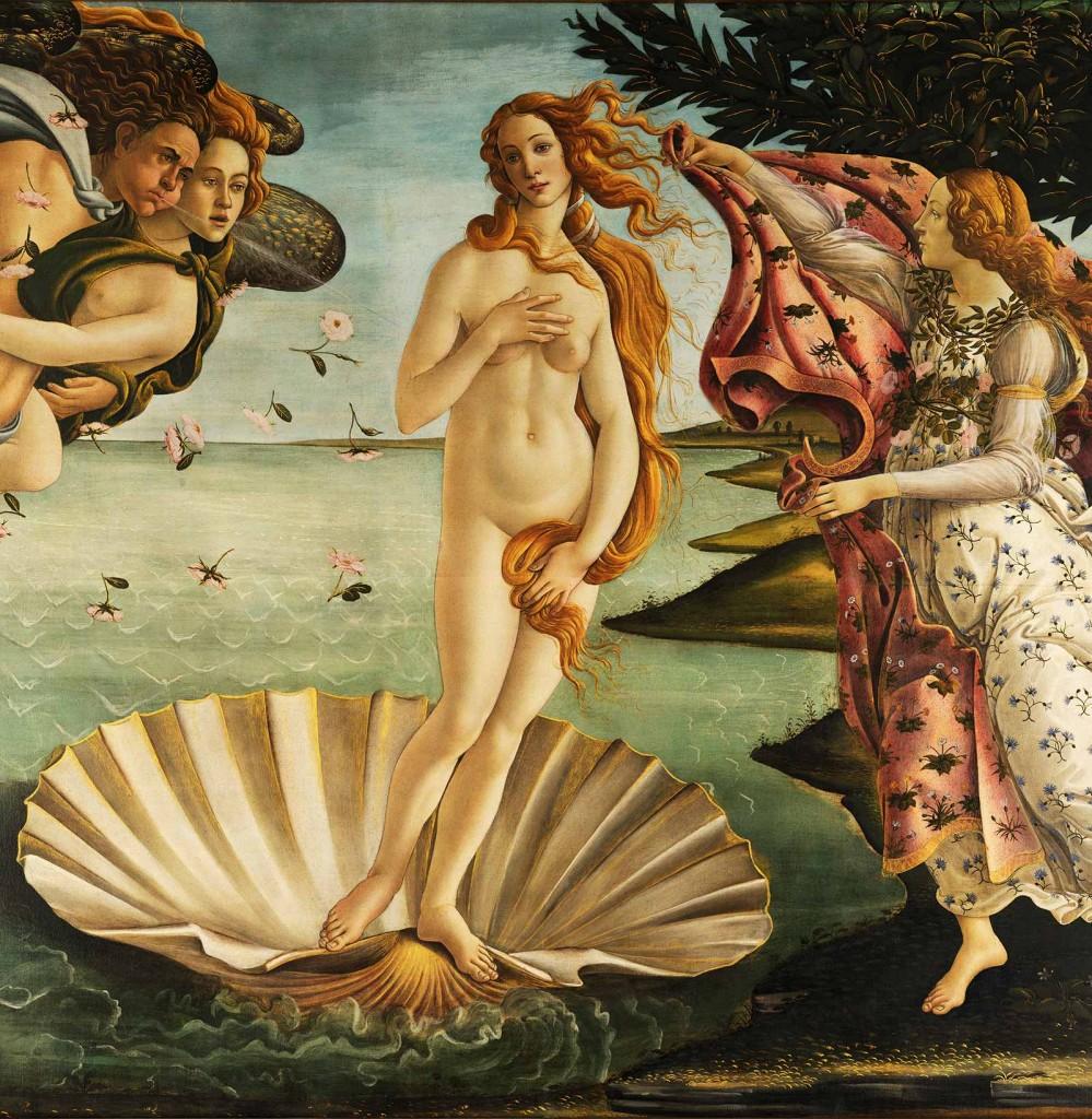 Sandro Botticelli, The Birth of Venus (1486)