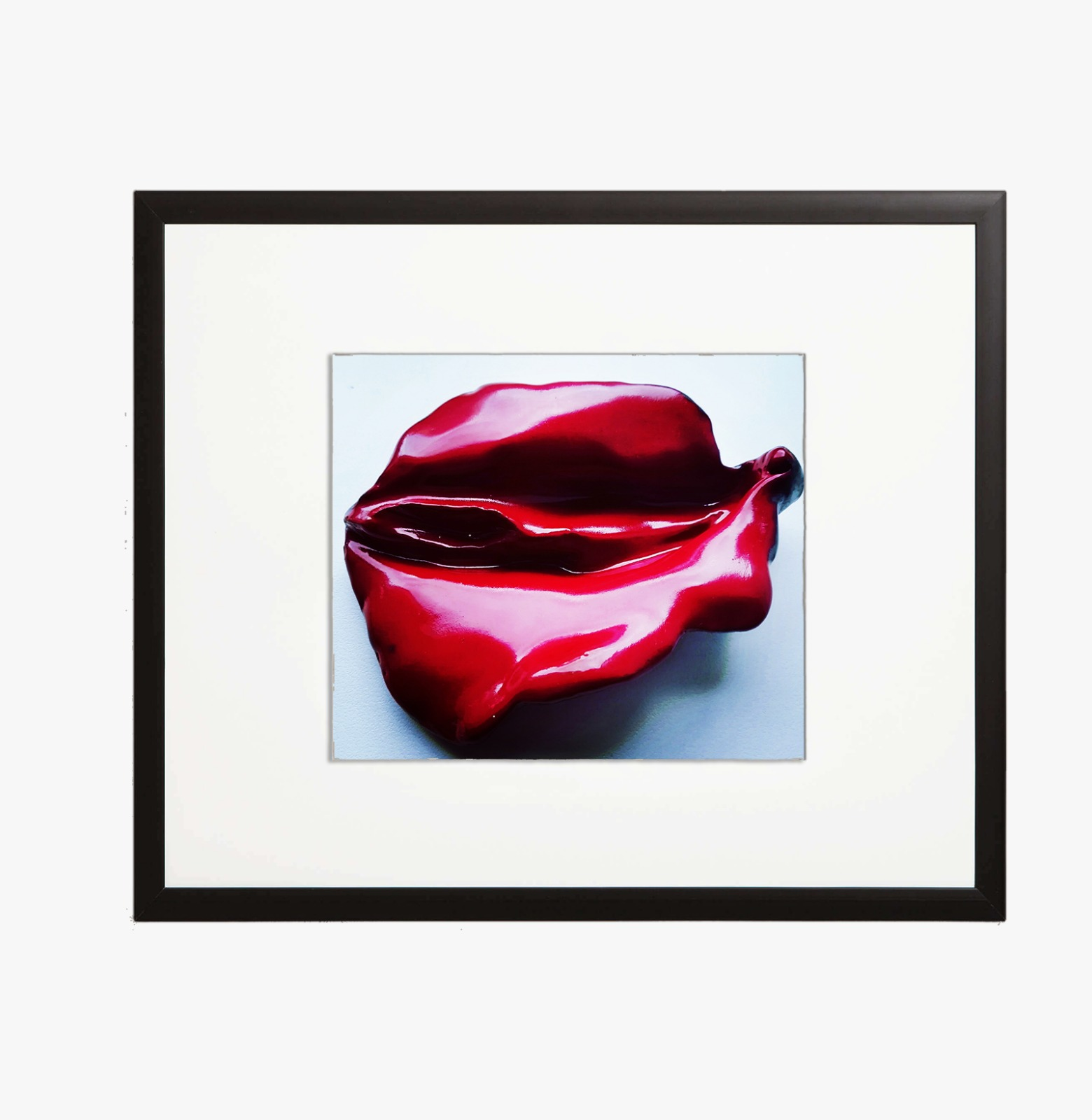 Sculpture Red Velvet Vulva 7320