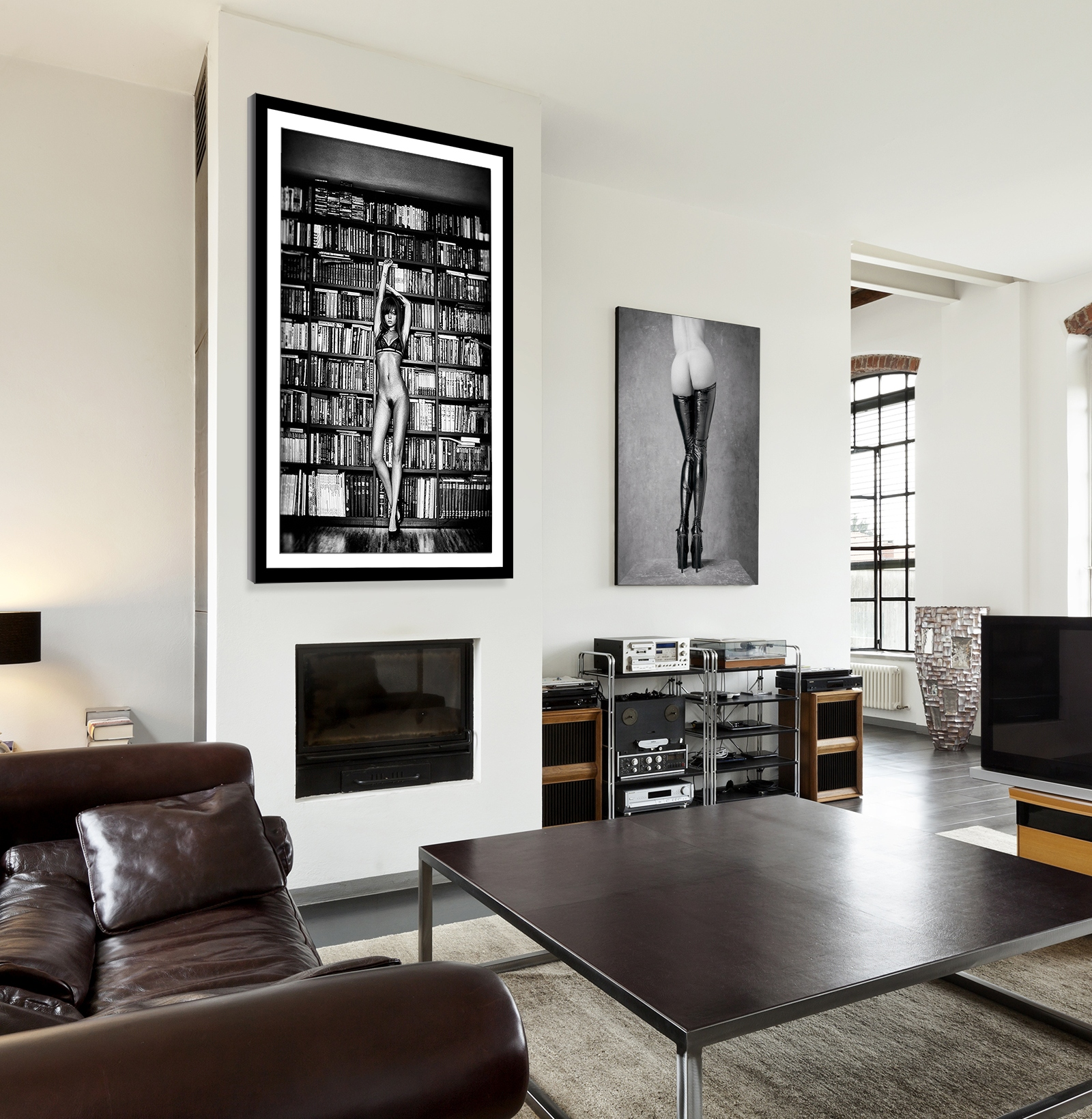Nude Art Living Room Loft P5024 P4999