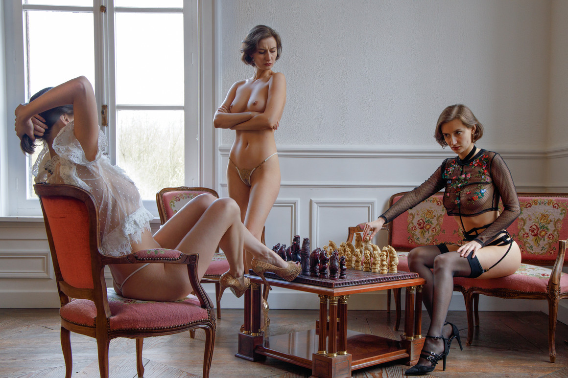 Chess with the girls
