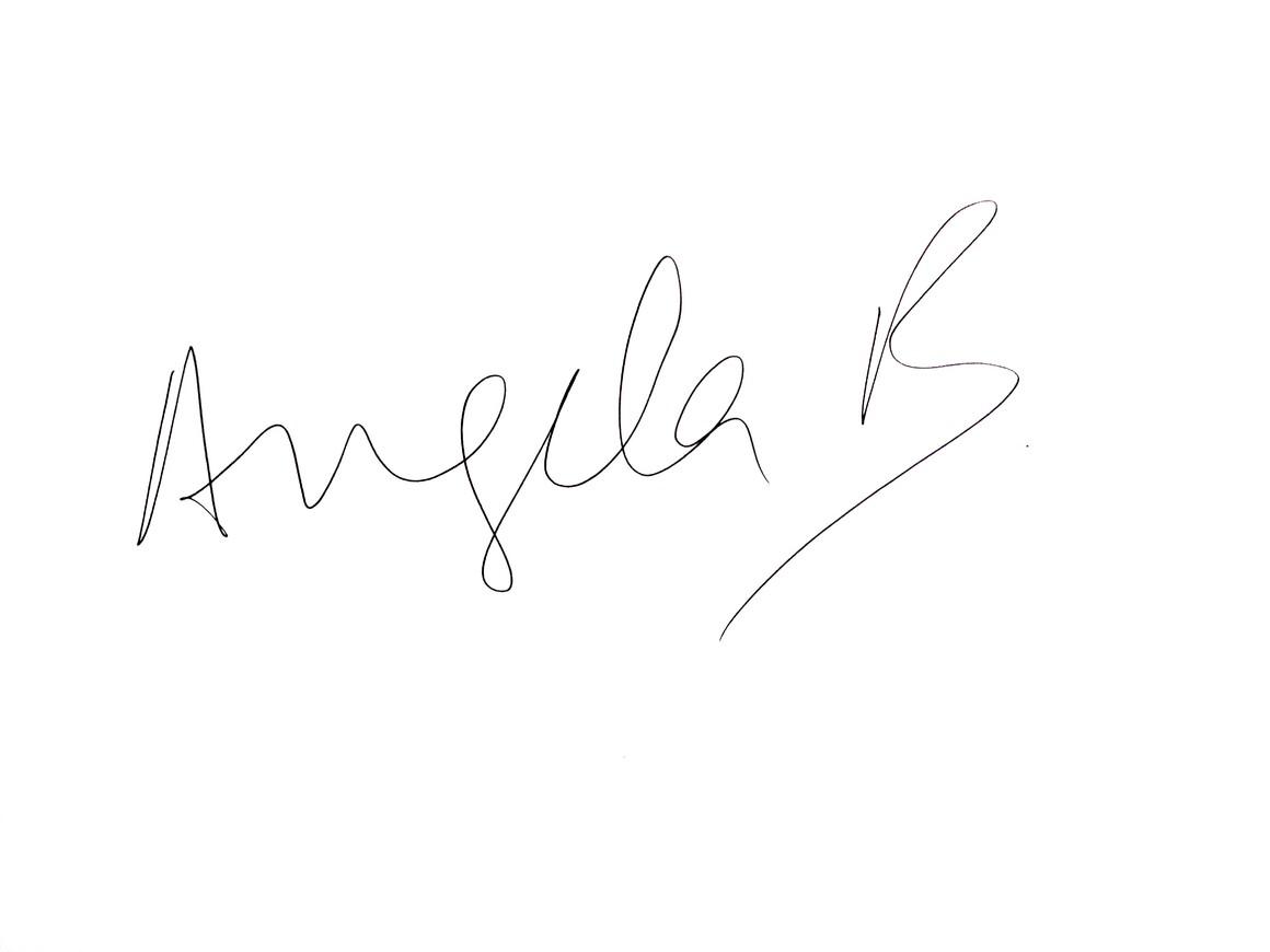 Angela naked back