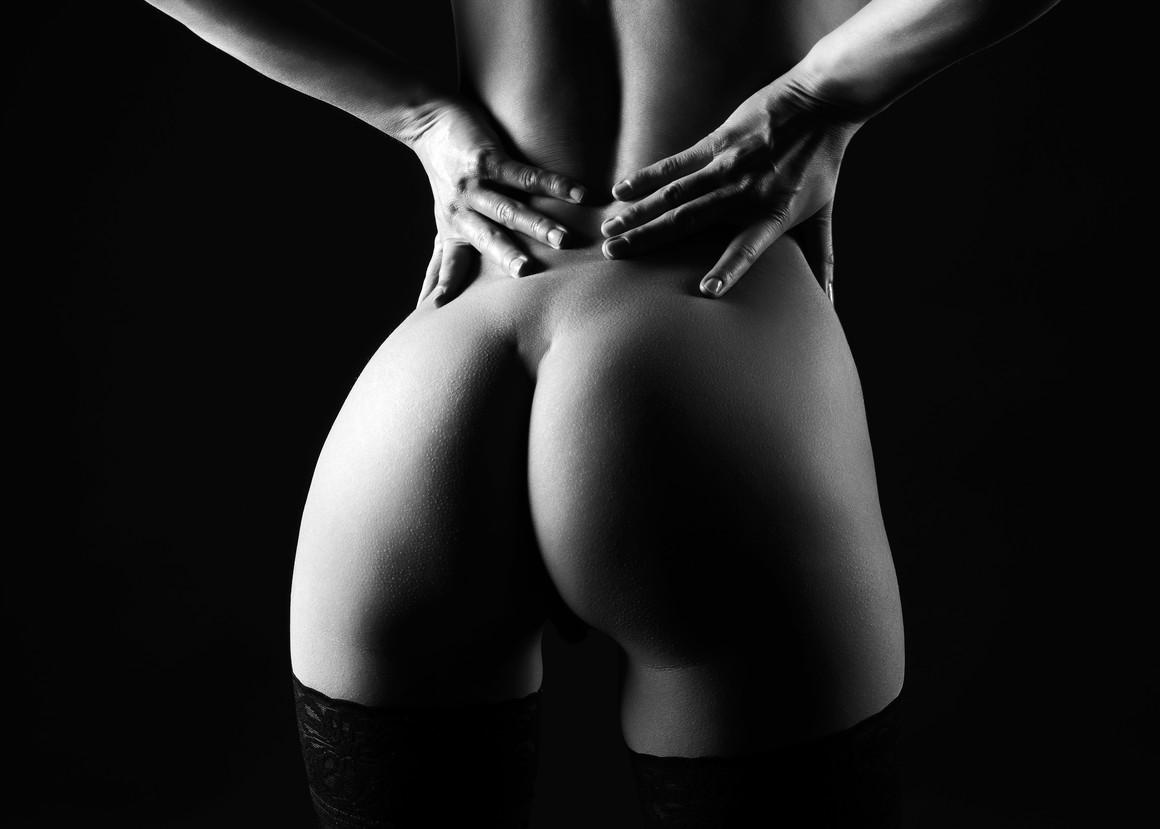 Erotic buttocks