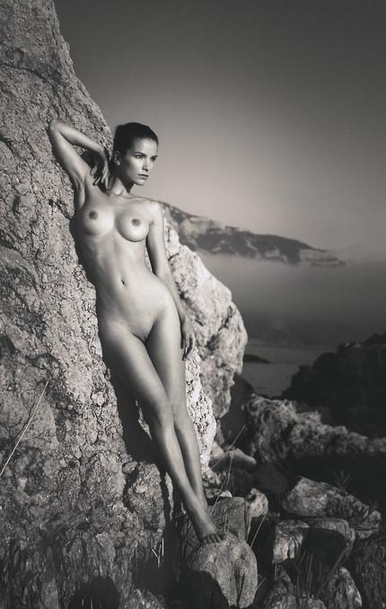 Climbing Nude