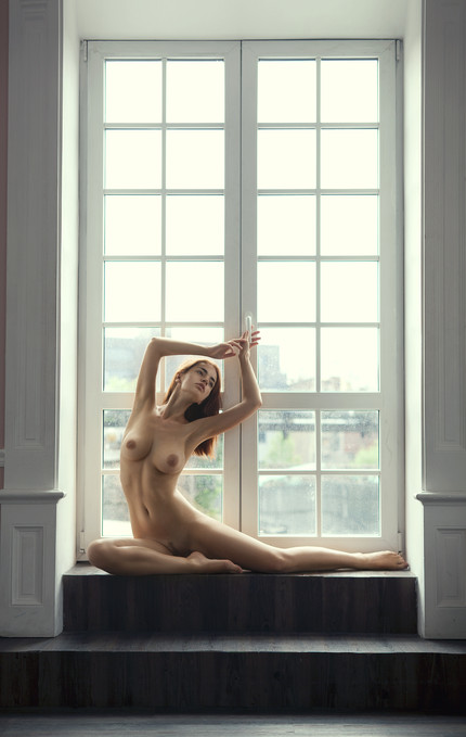 Ballerina in Window