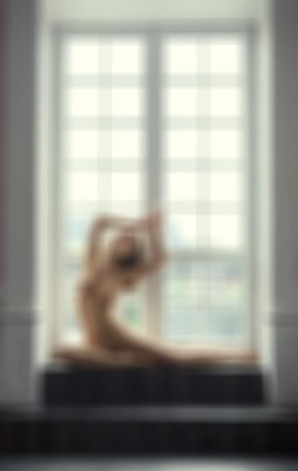 Ballerina in Window