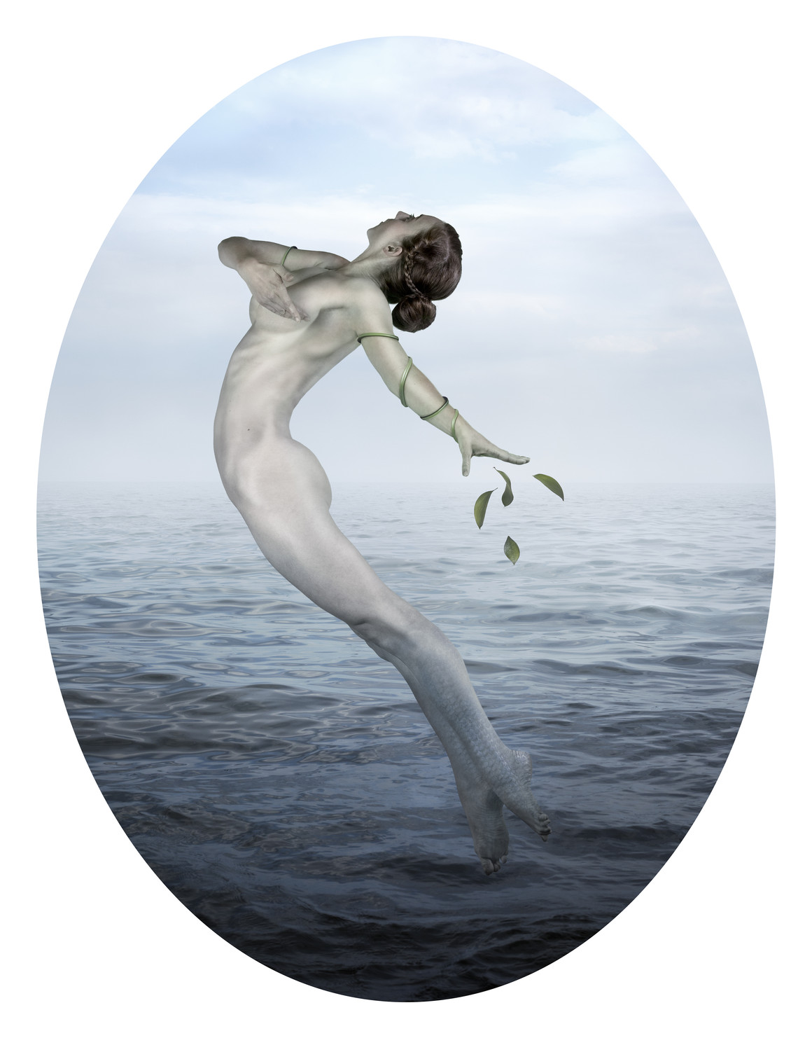 Goddess of Nature in The Sea