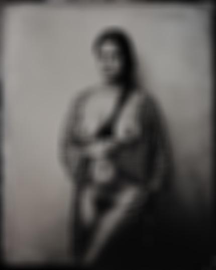 Tonya in robe