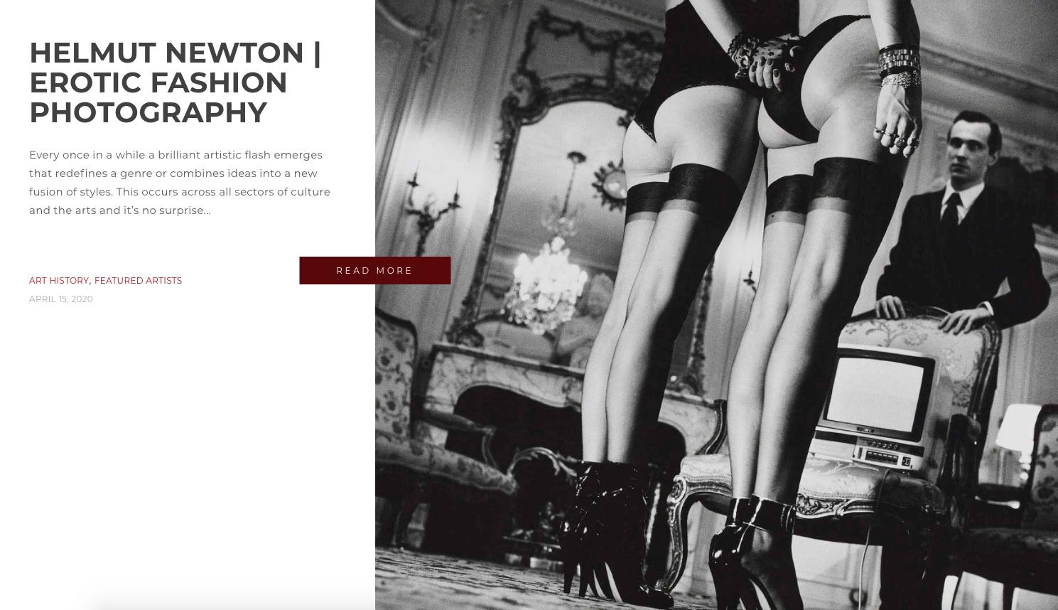 HELMUT NEWTON | EROTIC FASHION PHOTOGRAPHY